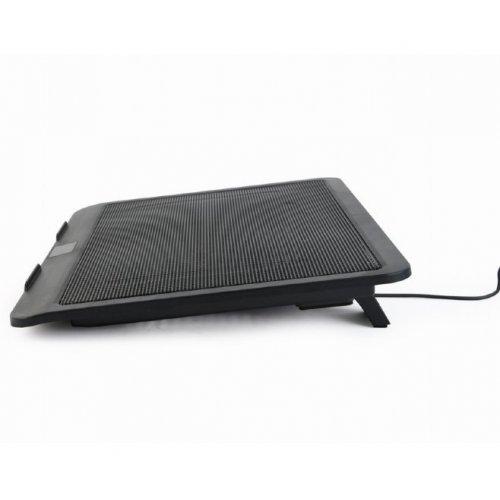Фото Подставка для ноутбука Gembird NBS-1F15-04 Black