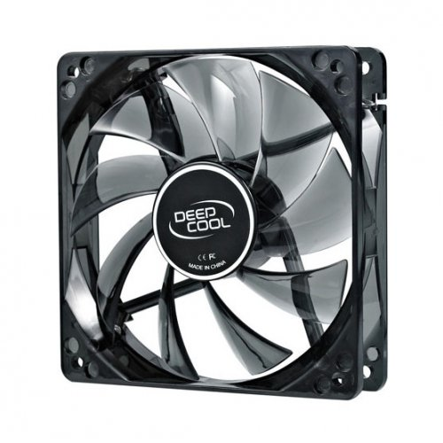Фото Кулер для корпуса Deepcool WIND BLADE 120 LED White