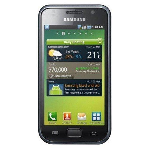 Фото Смартфон Samsung I9000 Galaxy S Metallic Black