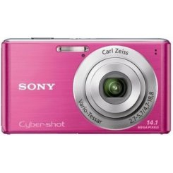 Фото Цифровые фотоаппараты Sony Cyber-shot DSC-W530 Pink