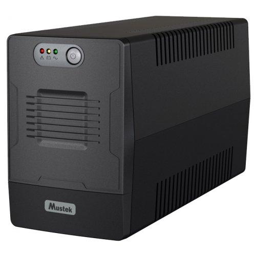 Купить ИБП, Mustek PowerMust 1500 Line Int. Schuko (1500-LED-LI-T10)