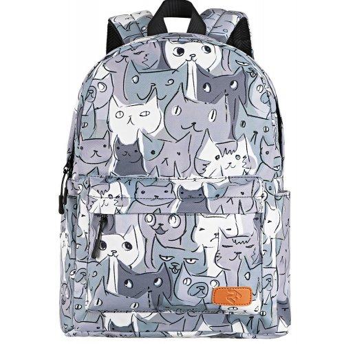 Купить Сумки, 2E 13 TeensPack (2E-BPT6114GC) Grey Cats
