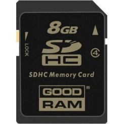 Фото Карта памяти GoodRAM SDHC 8GB Class 4 (SDC8GHC4GRR9)