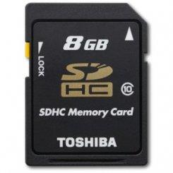 Фото Карта памяти Toshiba SDHC 8GB Class 10 (SD-K08GJ(BL3/SD-K08GJ(BL5)