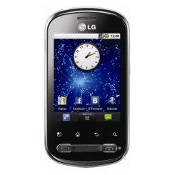 Фото Смартфон LG Optimus Me P350 Titanium Black