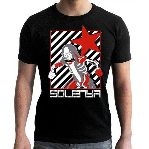 Купить Одежда, ABYstyle Rick and Morty L (ABYTEX505L) Black