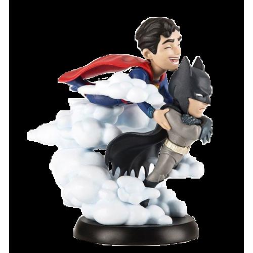 Фото Коллекционная статуэтка Quantum Mechanix DC Comics Batman and Superman (FIGQMX031)
