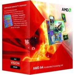 Фото Процессор AMD A4-6320 3.8GHz 1MB sFM2 Box (AD6320OKHLBOX)
