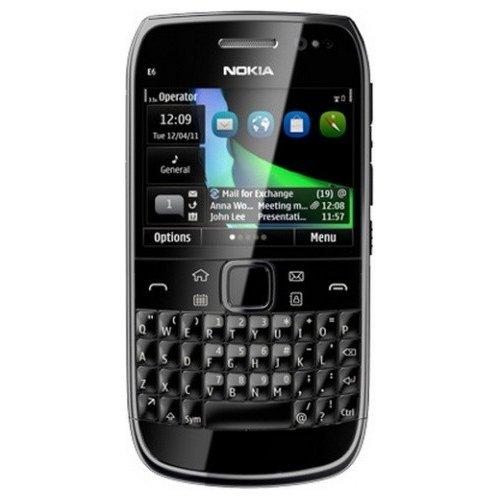 Фото Мобильный телефон Nokia E6-00 Black