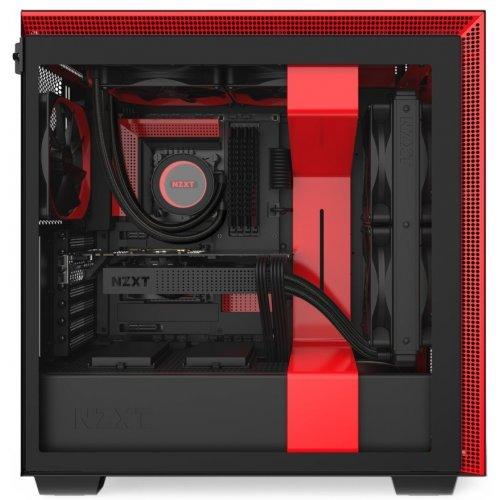 Фото Корпус NZXT H710 (CA-H710B-BR) Black/Red
