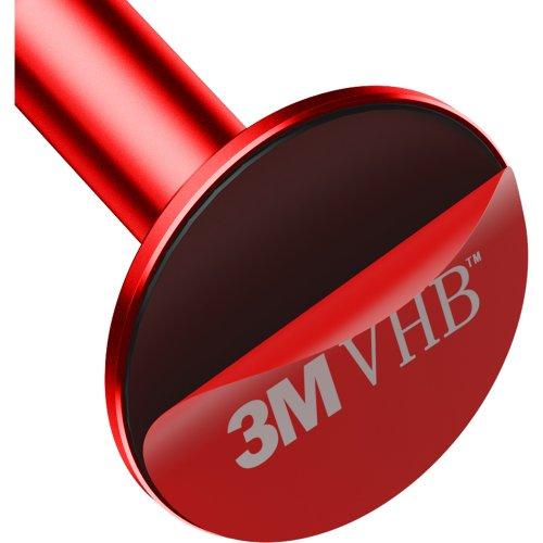 Фото Автодержатель Baseus Bullet An on-board Magnetic Bracket (SUYZD-09) Red