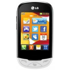 Фото Мобильный телефон LG T500 White