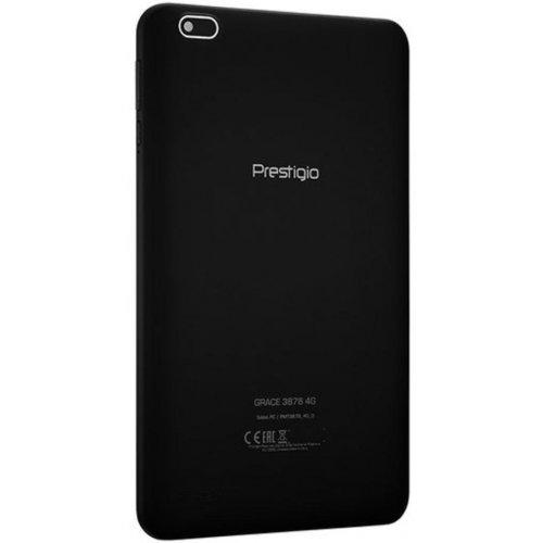 Фото Планшет Prestigio Grace 3878 8.1 1/16GB LTE (PMT3878_4G_D) Black