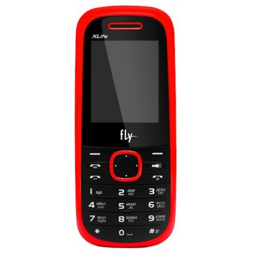 Фото Мобильный телефон Fly DS110 Duos Red