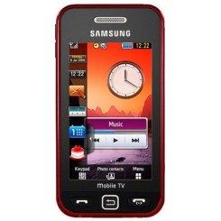 Фото Мобильный телефон Samsung S5233 Star TV Red