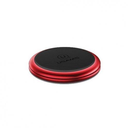 Фото Автодержатель Usams Lead-Tu Dashboard Magnetic Car Holder Red