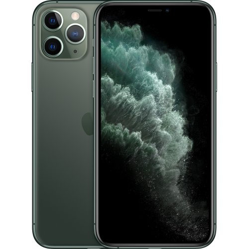 Фото Смартфон Apple iPhone 11 Pro 64GB (MWC62) Midnight Green