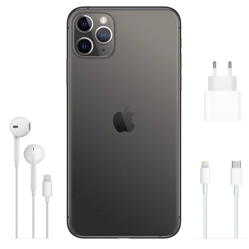 Фото Смартфон Apple iPhone 11 Pro Max 64GB (MWHD2) Space Grey