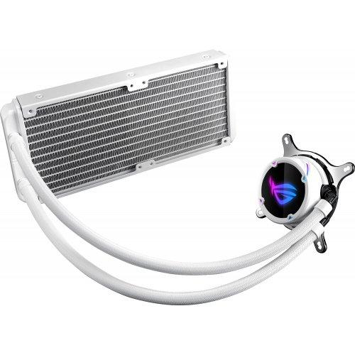 Фото Готовая СВО Asus ROG Strix LC 240 RGB White Edition (ROG-STRIX-LC-240-RGB-WHITE-EDITION)
