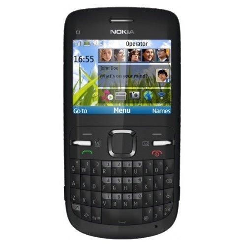 Фото Мобильный телефон Nokia C3-00 Black