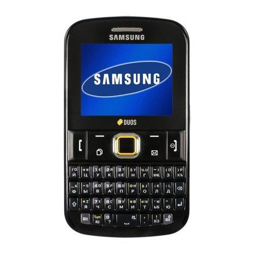 Фото Мобильный телефон Samsung E2222 Duos Noble Black