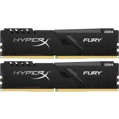 Фото ОЗУ HyperX DDR4 16GB (2x8GB) 3600Mhz Fury Black (HX436C17FB3K2/16)