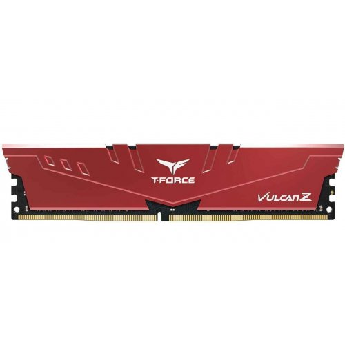 Купить Модули памяти, Team DDR4 8GB 3200Mhz T-Force Vulcan Z Red (TLZRD48G3200HC16C01)