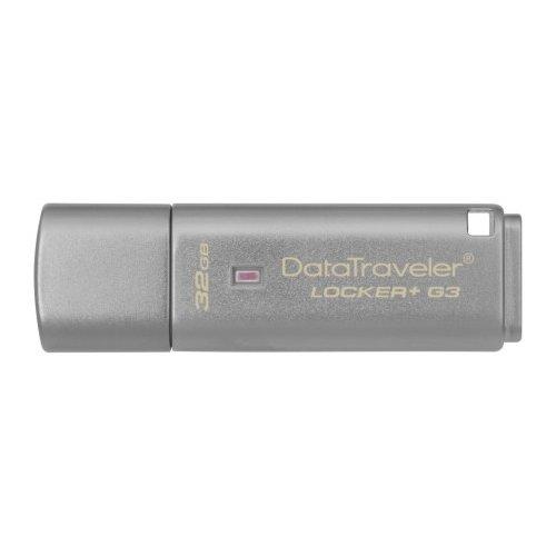Фото Накопитель Kingston DataTraveler Locker+G3 USB 3.0 32GB Grey (DTLPG3/32GB)
