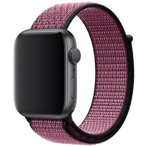 Фото Ремешок Apple Nike Sport Loop for Apple Watch 44mm (MWU42) Pink Blast/True Berry