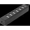 Фото USB-хаб Defender Quadro Swift USB 2.0 7-ports (83203) Black