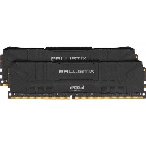 Фото Crucial DDR4 16GB (2x8GB) 3200Mhz Ballistix Black (BL2K8G32C16U4B)