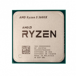 AMD Ryzen 5 3600X 3.8(4.4)GHz 32MB sAM4 Tray (100-000000022)
