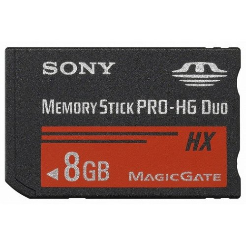 Фото Карта памяти Sony Memory Stick PRO Duo HG 8GB (MSHX8A/MSHX8B)