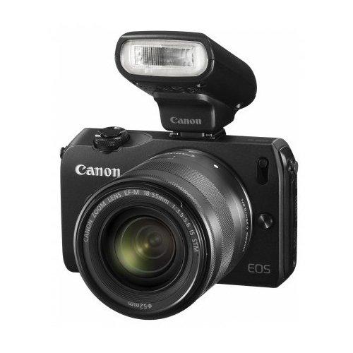 Фото Цифровые фотоаппараты Canon EOS M 22 STM Kit Black