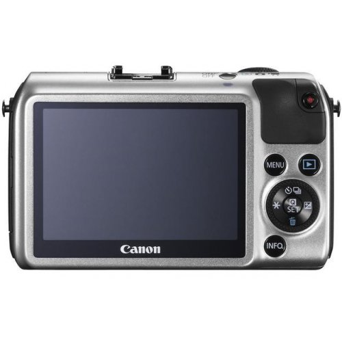 Фото Цифровые фотоаппараты Canon EOS M 22 STM Kit White