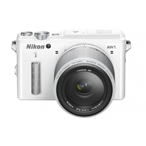 Фото Цифровые фотоаппараты Nikon 1 AW1 10 2.8 AW + 11–27.5 AW Kit White