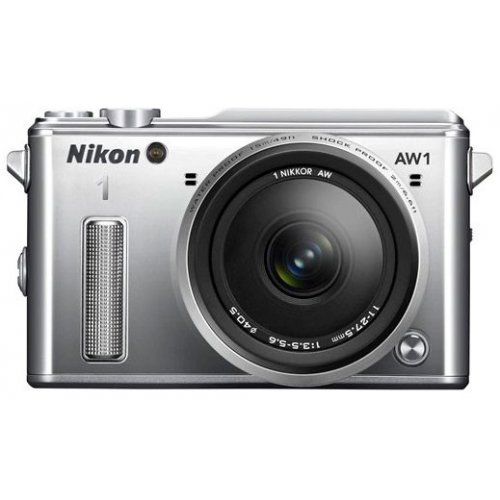 Фото Цифровые фотоаппараты Nikon 1 AW1 11–27.5 AW Kit Silver