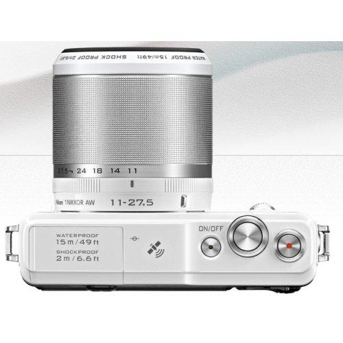 Фото Цифровые фотоаппараты Nikon 1 AW1 11–27.5 AW Kit White