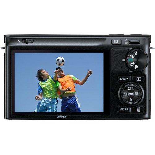 Фото Цифровые фотоаппараты Nikon 1 J2 10-30 VR + 30-110 VR Kit Black