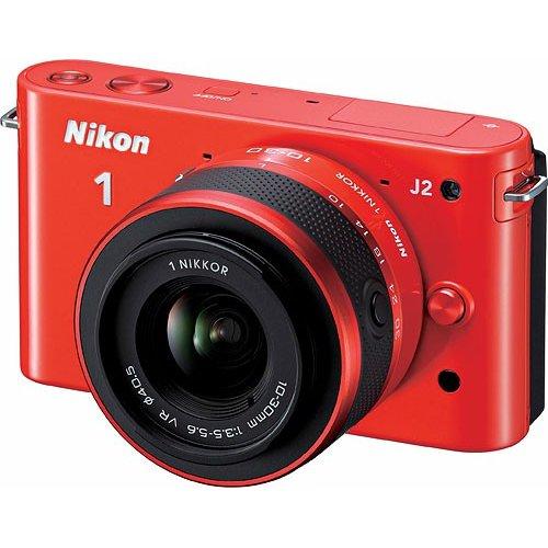 Фото Цифровые фотоаппараты Nikon 1 J2 10-30 VR Kit Orange