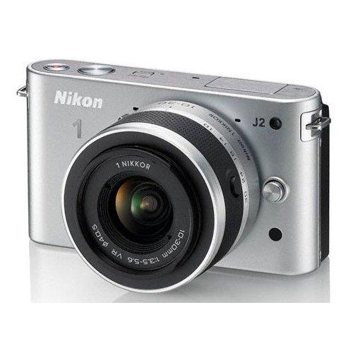 Фото Цифровые фотоаппараты Nikon 1 J2 10-30 VR Kit Silver