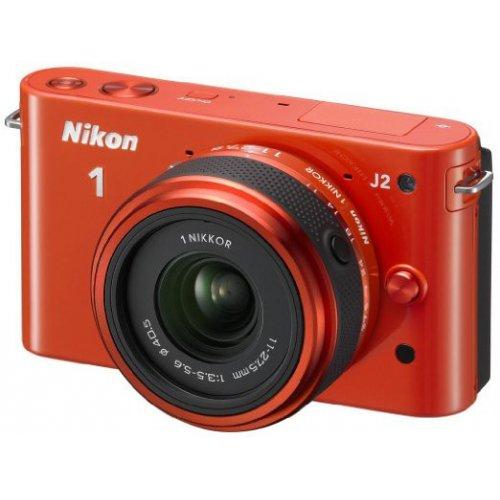 Фото Цифровые фотоаппараты Nikon 1 J2 11-27.5 Kit Orange