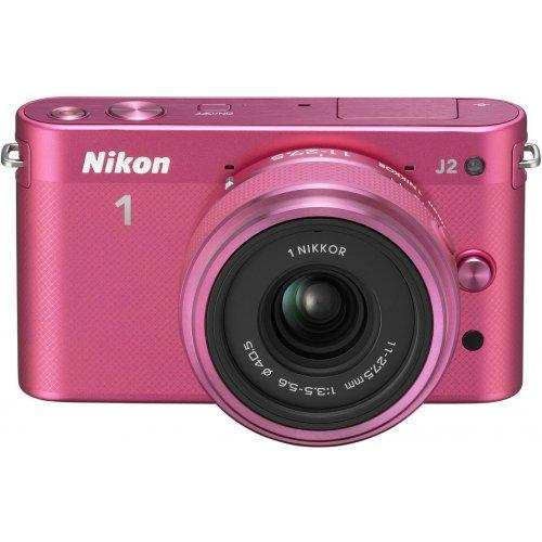Фото Цифровые фотоаппараты Nikon 1 J2 11-27.5 Kit Rose