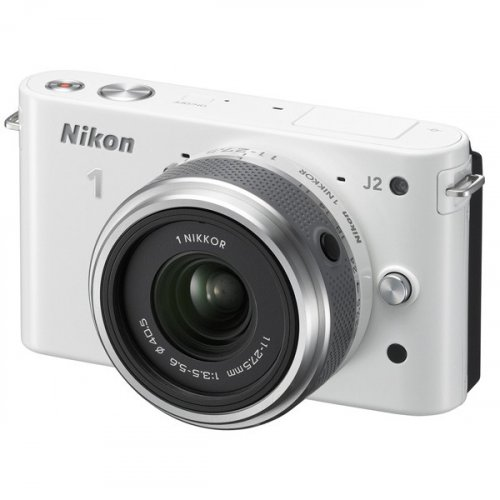 Фото Цифровые фотоаппараты Nikon 1 J2 11-27.5 Kit White