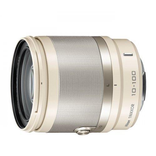 Фото Цифровые фотоаппараты Nikon 1 J3 10-100 VR Kit Beige