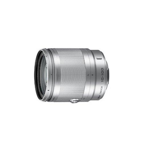 Фото Цифровые фотоаппараты Nikon 1 J3 10-100 VR Kit Silver