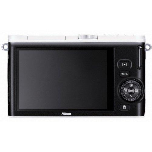 Фото Цифровые фотоаппараты Nikon 1 J3 10-30 VR Kit White