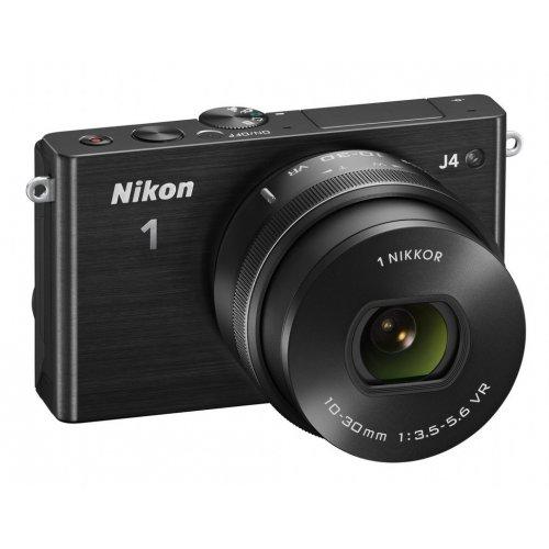 Фото Цифровые фотоаппараты Nikon 1 J4 10–30 PD + 30–110 VR Kit Black