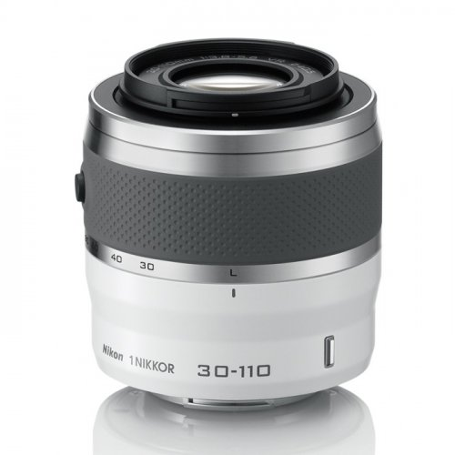 Фото Цифровые фотоаппараты Nikon 1 J4 10–30 PD + 30–110 VR Kit White