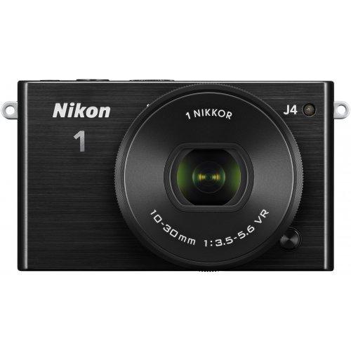 Фото Цифровые фотоаппараты Nikon 1 J4 10–30 PD Kit Black